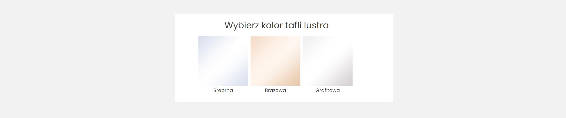 Srebrne czy niekoniecznie? O kolorach luster